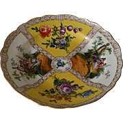 Antique Meissen Hand Painted Plate