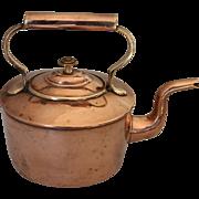 Antique English Copper Kettle