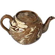 Agateware Agate Ware Burslem Teapot