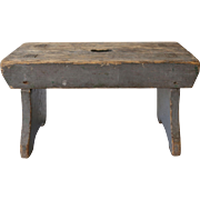 Antique Child's or Milking Stool