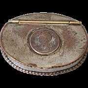 Antique Georgian Old Sheffield Plate Snuff Box