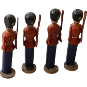 Antique German Erzgebirge Naive Toy Soldiers