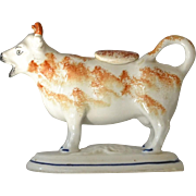 Antique Staffordshire Cow Creamer