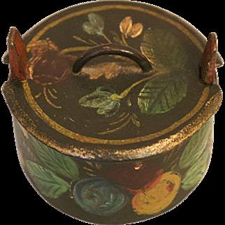 Antique Norwegian Rosemaling Box