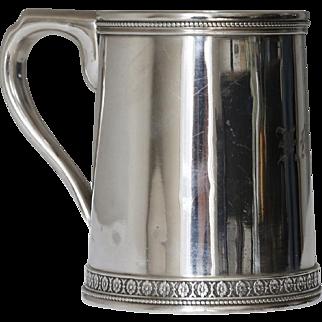 Antique Sterling Tiffany Mug