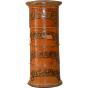 Antique Treen Spice Tower