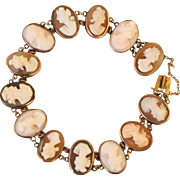 Antique Victorian Cameo Bracelet