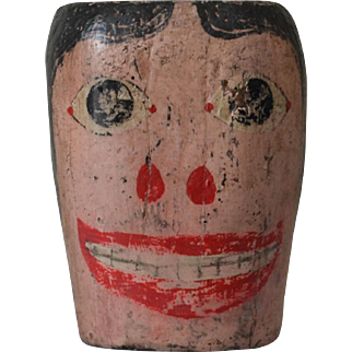 Antique Carnival Head or Circus Target