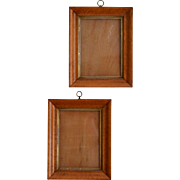 Antique Bird's Eye Maple Frames