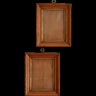 Antique Bird's Eye Maple Frames