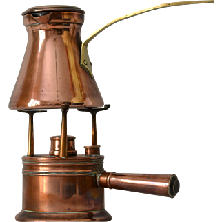 Antique Turkish Copper Coffee Maker from France