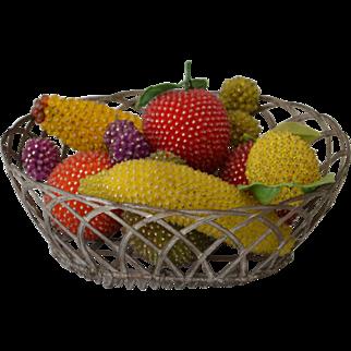 Vintage Beaded Fruit