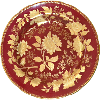 Wedgwood Ruby Tonquin Dinner Plate