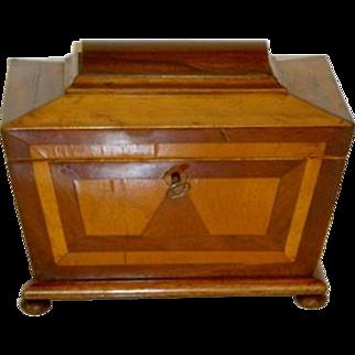 Antique English Mahogany Desk Box