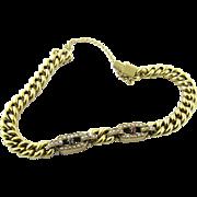 Vintage 14 Karat Yellow Gold Bracelet