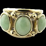 Vintage 14 Karat Yellow Gold Opal Ring Size 6.5