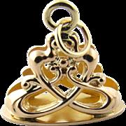 Antique 10 Karat Yellow Gold Watch Fob Pendant