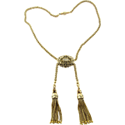 Antique Victorian 14 Karat Yellow Gold Necklace