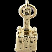 Vintage 14 Karat Yellow Gold Charm