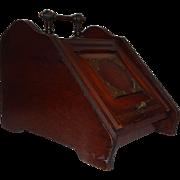 Antique Walnut Eastlake Coal Scuttle/Box