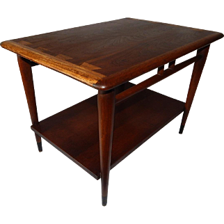 Vintage Mid Century Modern Dovetail Lane Acclaim End Table