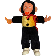 "Vintage ""Mr Bim""  Rubber Faced Stuffed Monkey by Superior Toy and Novelty Inc."