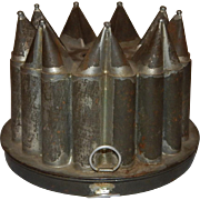 Jello/Cake Tinware Circle of Hearts Crown Mold
