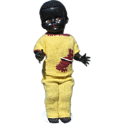 Black Hard Plastic WALKER PEDIGREE Ethnic doll ~ England          16 inches  (41 cm)