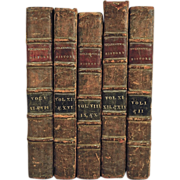 Complete Set of Antique Books: A New Ecclesiastical History of Ecclesiastical Writers, Dated 1698-1703