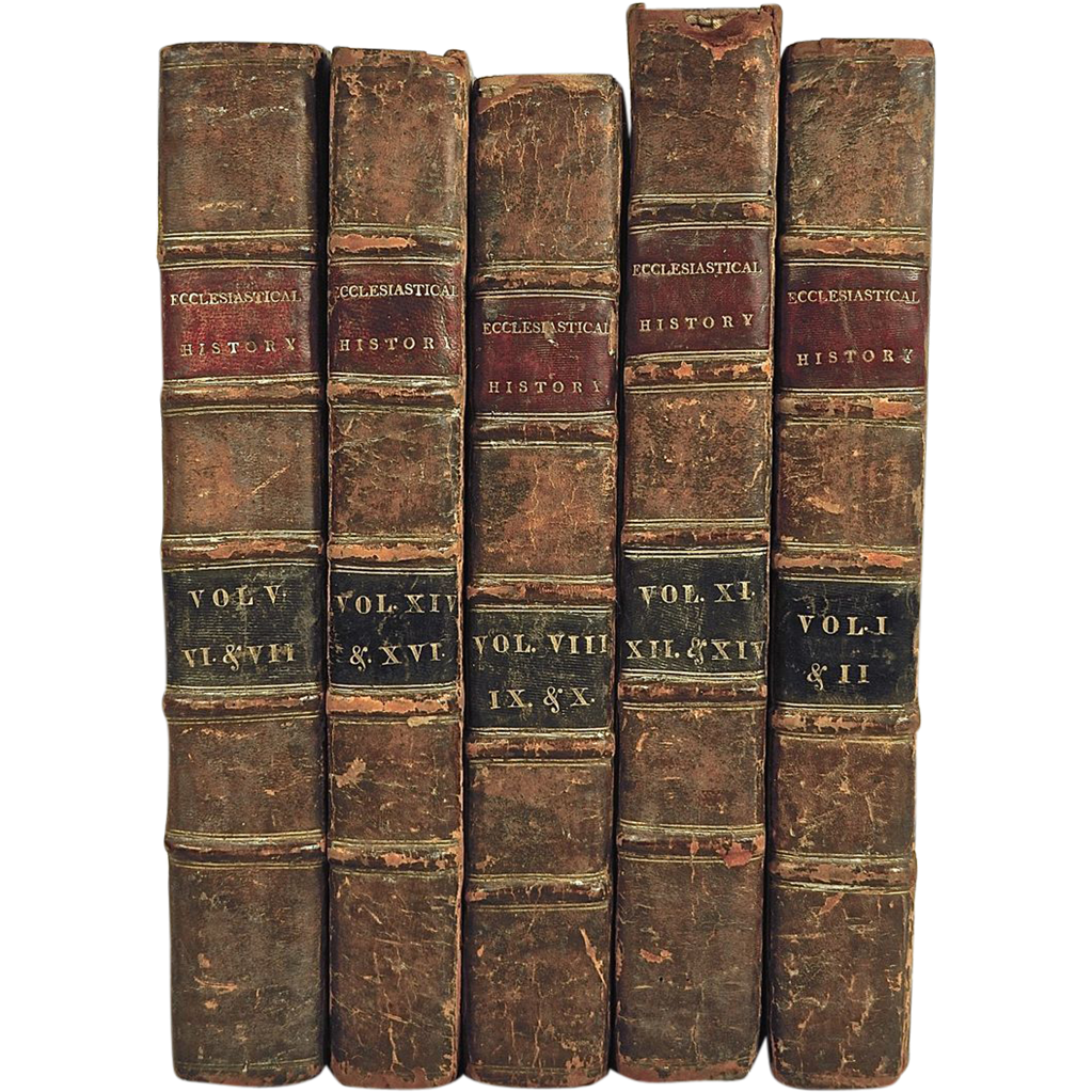 Complete Set of Antique Books: A New Ecclesiastical ...