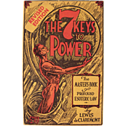 Book: The Seven Keys to Power, Dated 1940