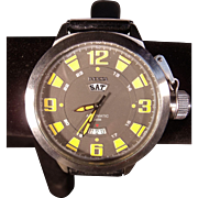 Massive Vintage Invicta Divers Automatic Wristwatch