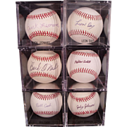 Rare Hall of Fame Negro League Baseball Autograph Collection