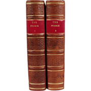 Lovely Antique Leather Finely Bound Set of Books, The Phenix, by John Dunton, 1707