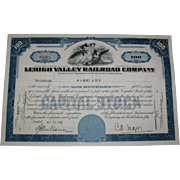 5 Different Stock Certificates - Free Shipping