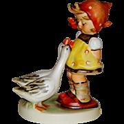 """Vintage M.I. Hummel """"Goose Girl"""" Figurine ~ HUM47/3/0 ~ TMK5"""