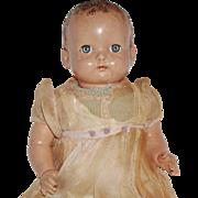 Vintage Effanbee Blue Eye Composition Doll