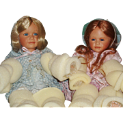 """Master Piece Gallery Limited Edition Artist Dolls """"Wendy"""" and """"Emily"""" by Pamela Erff"""