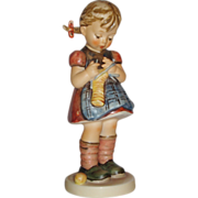 "M.I. Hummel ""A Stitch In Time"" Figurine ~ HUM255 ~ TMK6"