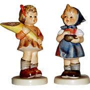 "(2) M.I. Hummel Figurines ""A Sweet Offering"" ~ HUM549/3/0 and ""From Me to You"" ~ HUM629 ~ Both are TMK7"