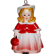 "Goebel 1988 Annual Ornament ""Doll-Girl with Purse"" Figurine"