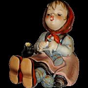 """Vintage M.I. Hummel """"Happy Pastime"""" Figurine ~ HUM69 ~ TMK5"""