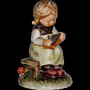 """Vintage M.I. Hummel """"Busy Student"""" Figurine ~ HUM367 ~ TMK4 ~ Three Line"""