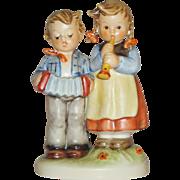 """M.I. Hummel """"Birthday Serenade"""" Figurine ~ HUM218/2/0 ~ TMK5 ~ CV between $220 - $225"""