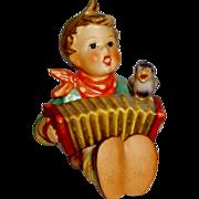 """Vintage M.I. Hummel """"Let's Sing"""" Figurine ~ 110/0 CE ~ TMK5 ~ CV between $185 - $190"""