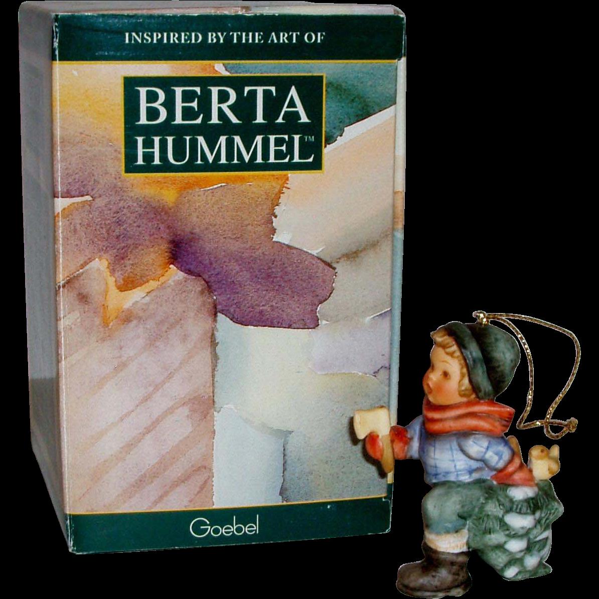 Hummel christmas tree ornaments - A Berta Hummel Christmas Fresh Christmas Tree Ornament Bh47 Original Box