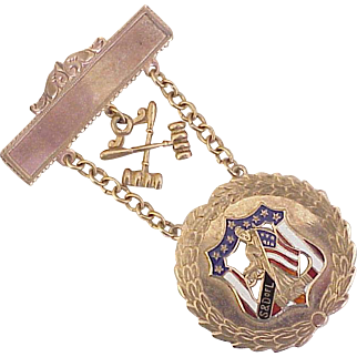 Sons & Daughters of Liberty Pin Political Activist, Colonial, American Revolution