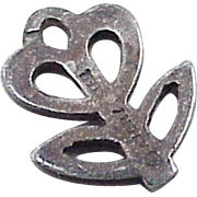 Vintage James Avery FLOWER Charm Sterling Silver, Retired