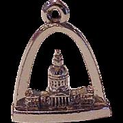 Gateway Arch St. Louis MO Vintage Charm Sterling Silver circa 1960's