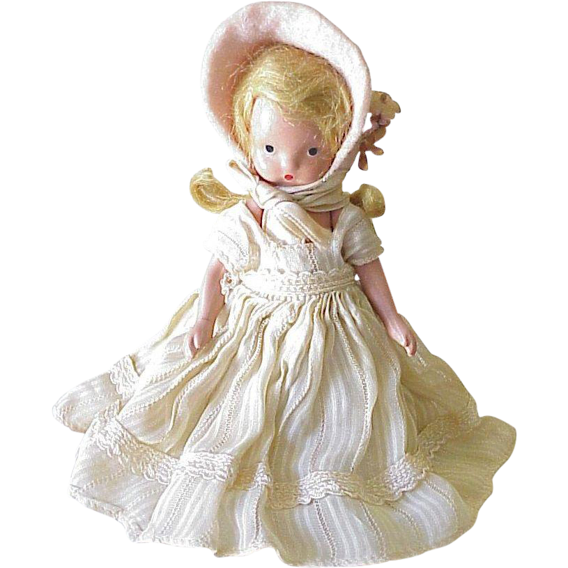 vintage nancy ann storybook doll circa 1940 39 s bisque from acharmedlife on ruby lane. Black Bedroom Furniture Sets. Home Design Ideas